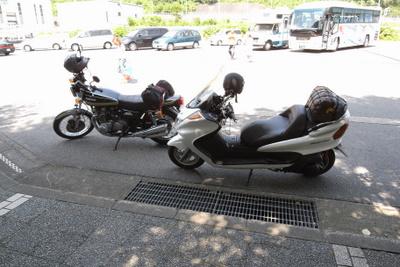 夏休み。佐渡までバイクツーリング