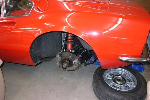 ディーノ246GTの燃料ポンプ交換しました。