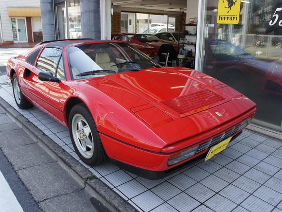 89年フェラーリ328GTS ヨーロッパ本国仕様 御売約済み