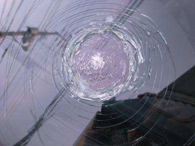 フロントガラス飛び石
