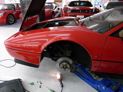 フェラーリ328GTBクラクション故障
