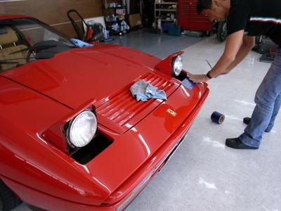 フェラーリ328GTB HID取り付け