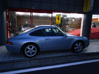 ポルシェ993札幌納車