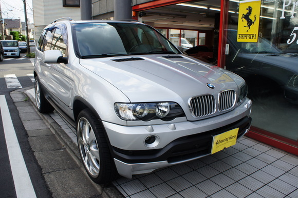 01年BMW X5 4.4i 22インチAW