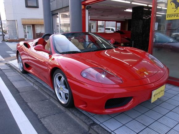 03年フェラーリ 360モデナスパイダー 6MT