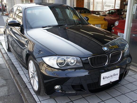 06年BMW130I Mスポーツ 6MT車