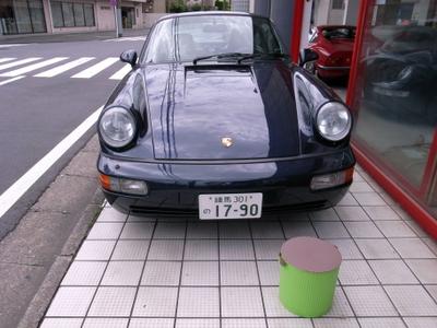 ポルシェ964カレラ2 洗車しました。