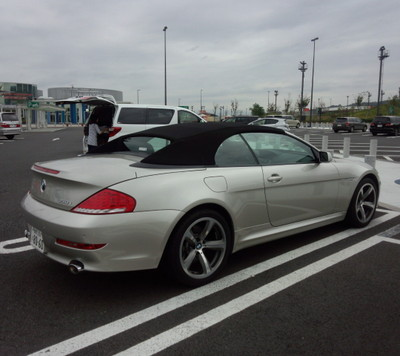 神戸 BMW650CV納車