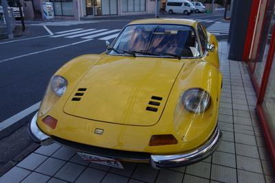 246GT納車の旅 大阪