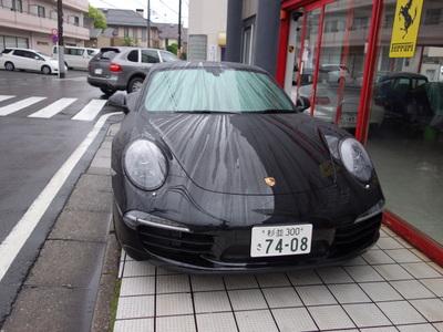 ポルシェ991カレラS ブラック 大阪納車 その1