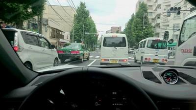 ポルシェ991カレラ4 松本納車