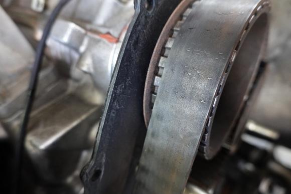 フェラーリ328GTS タイミングベルト交換