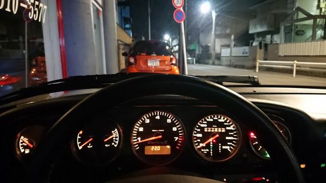 ポルシェ993カレラS 京都納車