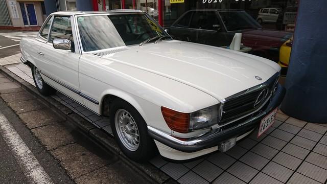83年500SL販売準備
