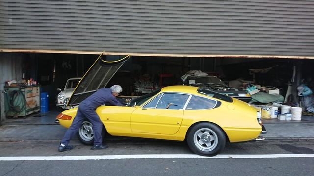 フェラーリ365GTB4整備