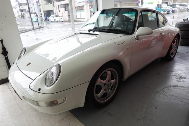 ポルシェ993九州納車