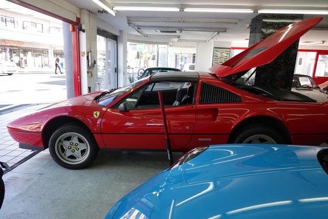 フェラーリ328GTS継続車検